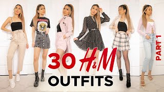 30 H&M Outfits TRY-ON HAUL Part 1   SPRING 2020 Fashion Lookbook