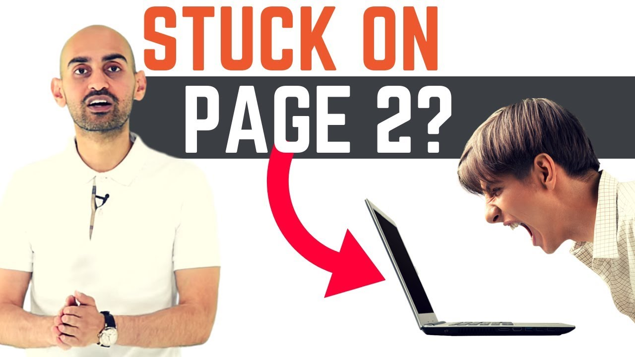 How to Go From Page 2 to Page 1 of Google