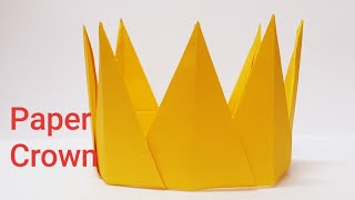 How To Make Paper Crown, Easy Paper DIY