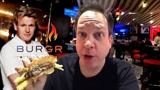 Gordon Ramsay Restaurant Las Vegas - Ultimate Cheeseburger!