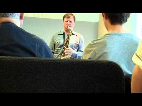 Chris Potter clinic -- Tune-Up online metal music video by CHRIS POTTER