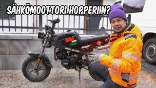 Sähkömoottori Tunturi Hopperiin? Äänestä! KWR