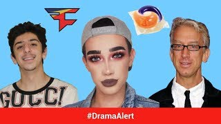 FaZe Rug & James Charles ATTACKED!! #DramaAlert Andy Dick EXPOSED on Twitch! Tide Pods, Markiplier
