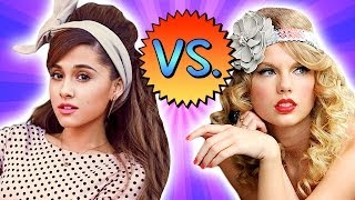 TAYLOR SWIFT vs. ARIANA GRANDE - Retro Fashion Battle!