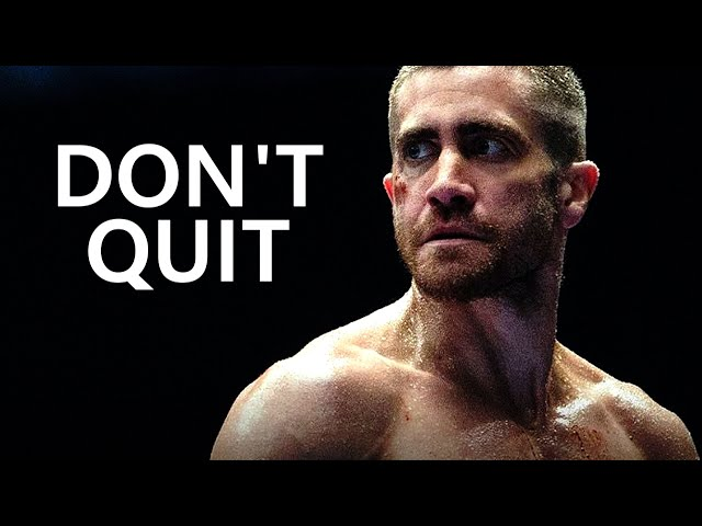 I'VE COME TOO FAR TO QUIT - Motivational Workout Speech 2019