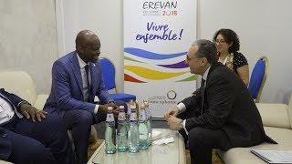 Rencontre entre les Ministres des Affaires étrangères d'Arménie et de Togo