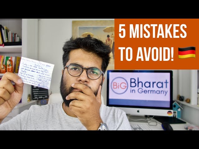 5 Mistakes to Avoid While Applying to German Universities 🇩🇪