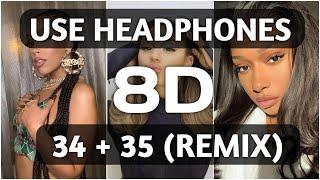 Ariana Grande - 34+35 (Remix) [8D AUDIO 🔥] feat. Doja Cat and Megan Thee Stallion