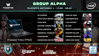 🔴 PREDATOR LEAGUE 2020 - VÒNG PLAYOFF VIỆT NAM - GROUP ALPHA
