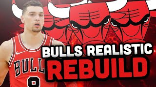Drafting A STUD..? Chicago Bulls Realistic Rebuild! NBA 2K19