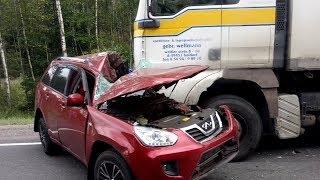 ВИДЕО АВАРИЙ ДТП АВТОМОБИЛЕЙ И МОТО СНЯТЫХ НА ВИДЕОРЕГИСТРАТОР Car Crash Channel №35