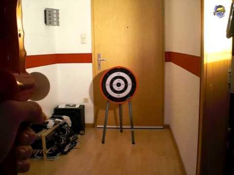 Hudora Sport Bogen mit Zielscheibe /  / Bow with Dartboard (DBW #93)