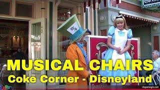 Musical Chairs with Alice in Wonderland, Mad Hatter, & Ragtime Robert - Disneyland Resort