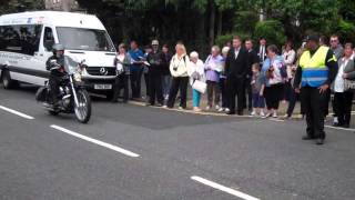 preview picture of video 'Motorbikes Parade Armed Forces Day Stirling Scotland'