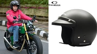 Asli Buatan Indonesia, Segini Harga Helm yang Dipakai Jokowi saat Naik Kawasaki W175 ke Pasar Anyar
