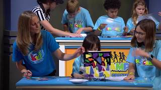 """15 - """"Stained Glass Pasta"""" - 3ABN Kids Camp Creation Crafts"""