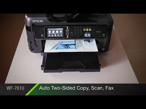 Epson WorkForce WF-7610 All-in-One Printer | Inkjet