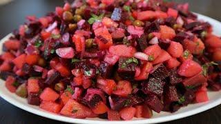"""Как приготовить""""Винегрет"""" классический рецепт 🥗Salad vinaigrette classic recipe"""