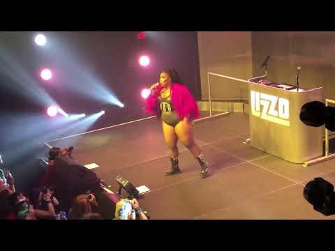 Lizzo performs Cuz I Love You (Live) at 9:30 Club, Washington, DC, Friday, May 17, 2019.