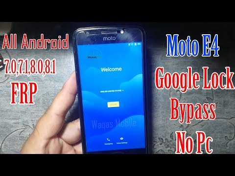 New Trick 2018 Moto 7 0, 7 1 1 frp Bypass Without PC 1000
