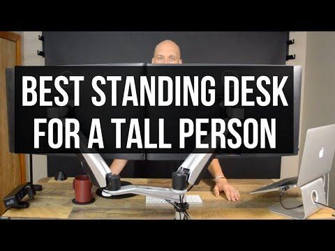 Best Standing Desk for Tall Person | VariDesk ProDesk 60 Electric Review