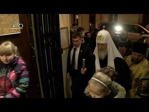 La visite du Patriarche Cyrille à Paris