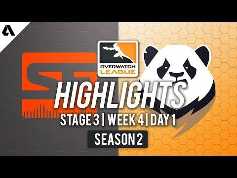 San Francisco Shock vs. Chengdu Hunters | Overwatch League S2 Highlights - Stage 3 Week 4 Day 1