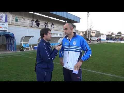 Declaraciones de Manu Tena, Entrenador del Sariñena, tras el Sariñena 2-0 Villanueva