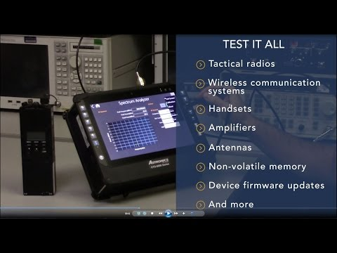Communications Test Set from Astronics Test Systems