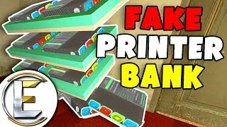 Fake Money Printer Bank - Gmod DarkRP Life (I Stole Everyone