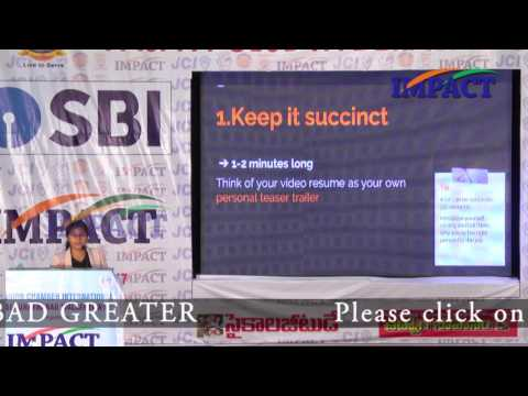 Video Resume |Saloni | TELUGU IMPACT Hyd Apr 2017