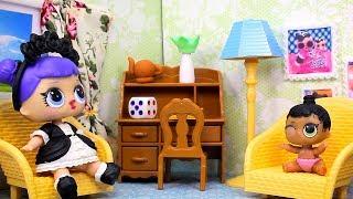 Куклы ЛОЛ СМЕШНЫЕ ВИДЕО 6 Мультики #Игрушки и Сюрпризы LOL с Лалалупси Вероника