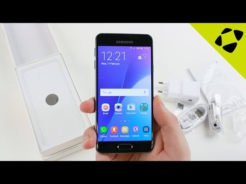 Samsung Galaxy A3 2016 Unboxing & Mini Review