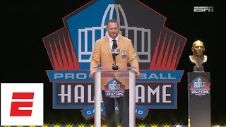 [FULL] Brian Urlacher Hall of Fame speech | 2018 Pro Football Hall of Fame | ESPN