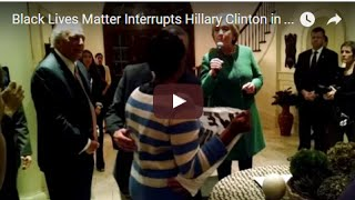 Black Lives Matter Activists Interrupt Hillary Clinton in South Carolina