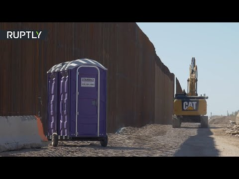 What pandemic? Construction of Trump's wall expands