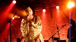 Ane Brun - Don't Leave - live@L'Alhambra (Paris), 17 oct. 2013