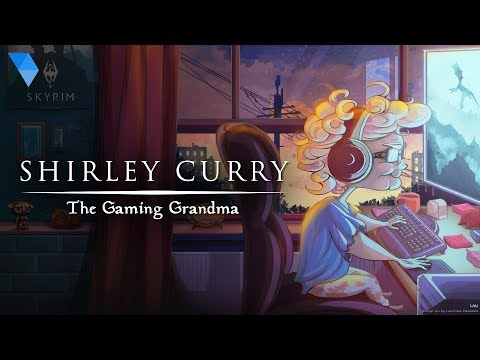 Shirley Curry actually just turned 83! Here is a game-umentary about her love for Skyrim. I hope she makes it to a million subscribers!
