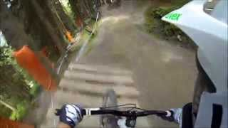 preview picture of video 'Bikepark Leogang 2014 - Mustaches on tour - Downhill'