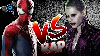 joker vs spiderman rap  ivangel music  ã‰pica batalla de rap