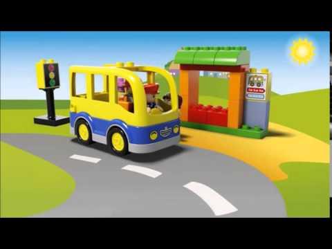 Vidéo LEGO Duplo 10528 : Le bus scolaire