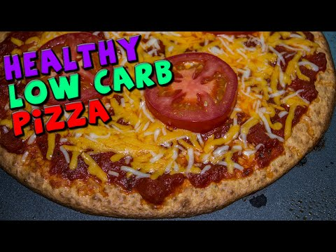 The Best Healthy LOW CARB Pizza Recipe (High Protein)