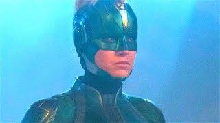 Все мелкие детали фильма Капитан Марвел