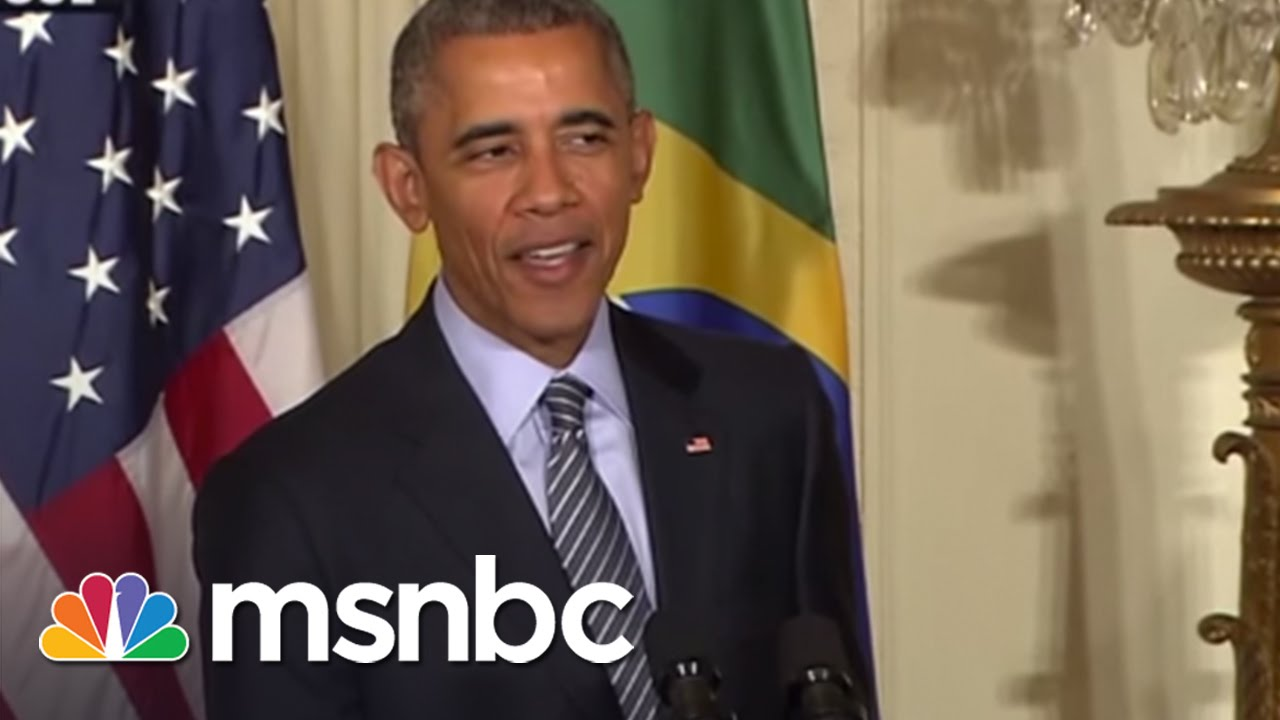 Was Last Week Obama's Best Ever? | msnbc thumbnail
