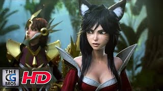 """CGI Animated Cinematics : """"League of Legends The New Dawn: - by Blur Studio 