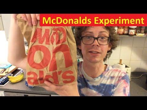 McDonalds Hamburger Experiment mit Saucen Special von Develey