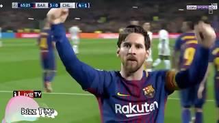 ملخص مباراة برشلونة 3 0 تشيلسي 🔥 تفاعل رؤوف خليف على تألق ليو ميسي mubarat barshilunat  tshylsy