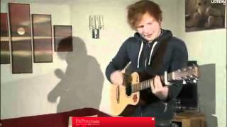 Ed Sheeran - U.N.I Live On UStream