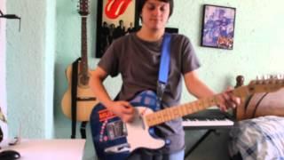 Drake Bell- Hollywood Girl Guitar cover