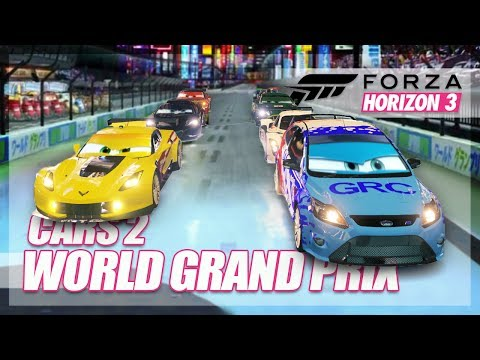 Forza Horizon 3 - Cars 2 Recreation! (World Grand Prix)